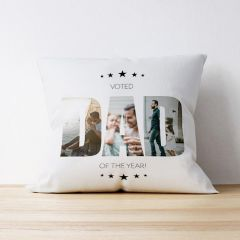 Photo Upload Cushion - Dad of the Year