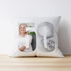 Photo Upload Cushion - 50 Years Old - Multiple Images