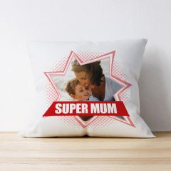 Photo Upload Cushion - Super Mum