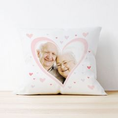 Photo Upload Cushion - Heart