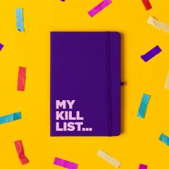 The 'Kill List' Notebook Purple