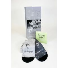 Mr and Mrs Newlyweds Personalised Card - Letterbox Gift set